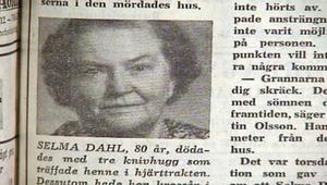 Så här skrev Falu Kuriren om mordet i augusti 1971.