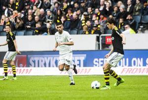 Stefan Silva imponerade mot AIK.