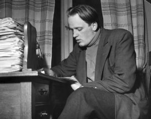 Lars Ahlin har lyft fram Sundsvall med sina skrivna verk.