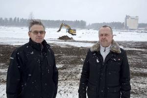 Björn Floresjö och Lasse Sörestad hoppas att så många besökare som möjligt lämnar bilen hemma.