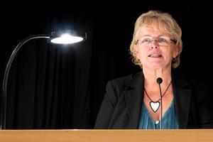 Ett av de beslutsförslag som kommunfullmäktiges ordförande Ardis Lindman (S) lade fram var att sänka skatten.