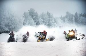 Full fart i Arctic Cat Cup på Gräfsåsen.