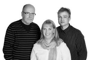 Kristdemokraternas toppnamn i kommunvalet 2010: Gösta Jedberger, Ulrika Ingvarsson och Jonas Hansen. BILD: PRIVAT