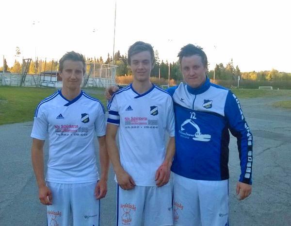David Larsson, André Rydén och Mattias Larsson blev målskyttar för Lillhärdal i segermatchen mot Brunflo.