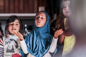 Kulturskolans konsertkväll Tillsammans för världen bjöd på en tonrik föreställning.