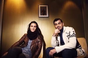 Sandra Harms och Karzan Kader är mest nöjda med att filmen blev av med tanke på omständigheterna i Kurdistan.