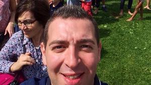Roger Haddads selfie.