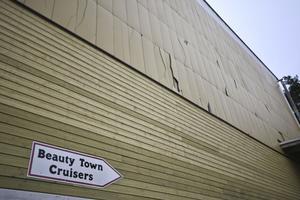 Skadegörelse hos Beautytown Cruisers