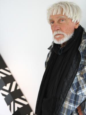 Konstnären Eric Lennarth.
