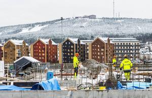 Kön är långt till Mitthems satsning på Norra kajen, där Trygghetsboendet ska vara klart i april 2016.