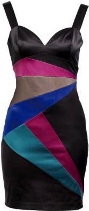 Våga välja lite färg! Rolig partyklänning från H&M,359 kronor.