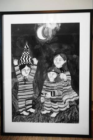 Agnes Horneijs svartvita bilder bjuder på mytiska, mystiska motiv ...