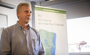 Magnus Bratt är vd på Dina Försäkringar Sydöstra Norrland.
