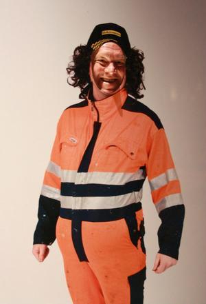 Hudiksvallsbon Ola Engberg i Stånk-Tommys outfit.
