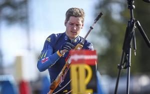 Tiio Söderhielm gör internationell debut i veckans IBU Cup.   Arkivbild: Martin Nilsson