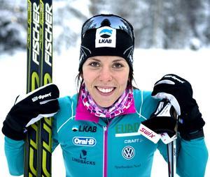 Charlotte Kalla avstår Tour de Ski för att ladda inför VM. Men på tisdag passar hon på att köra Tynderö Cup.