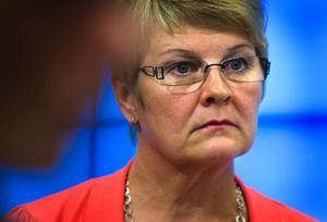 Maud Olofsson bör ge besked om jobben, skriver Berit Andnor.FOTO: SCANPIX