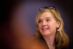 Catarina Lundström, arrangör och moderator för