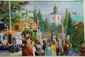 Karnevalsyran förmedlar glädje. I Gävle har man fängslats av de sprakande färgerna och de ljusa tonerna.