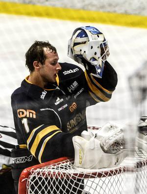 Magnus Åkerlund gick sönder i hemmaförlusten mot Tingsryd i fredags.