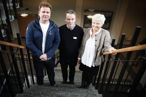 Torbjörn Nilsson, Arne Larsson och Helen Carlsson är studie- och yrkesvägledare.