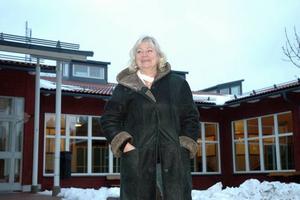 Bekymrad. Ol Andersskolans rektor Birgitta Skärberg är bekymrad över siffrorna men påpekar samtidigt att skolan tilldelar resurser och hjälp till de elever som behöver det.