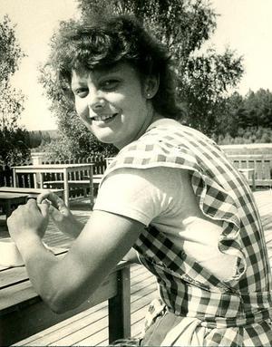 Eleanor Bodel vid Rödviksgården, där hon och systern drev restaurang i 15 år.Bild: ARKIV