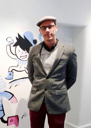 Jamil Mani, verksamhetsledare på Seriefrämjandet, ser en uppgång för serieböcker för barn och ungdomar.