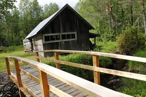 En ny bro har byggts, och även på själva sågen har åtgärder vidtagits.