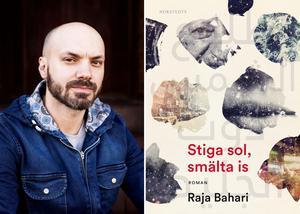 Raja Bahari skildrar mellanförskapet i sin debutroman. Foto:  Julia Lindemalm
