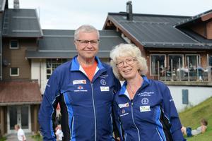 Bo Lennart och Anita Claesson besökte sitt femtonde O-ringen tillsammans.