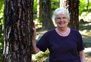Engagerad. Studierna/forskningen tog sex år, men all tid var mödan värd, anser Sylvia Annerbo 69, som doktorerat i medicin/alzheimer.