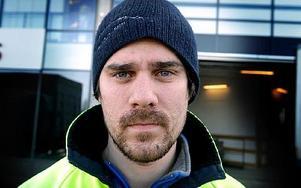 Anders Heed, 25 år, Leksand: – Yes, jag haft feber och varit sängliggande en hel vecka.