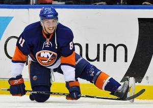 NHL-meriterade Justin DiBendetto från New York Islanders organisation. En av fem nya i Örebro Hockey.