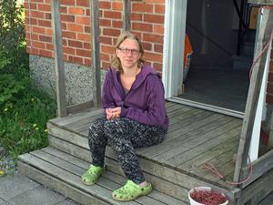 Annki Bengtsson hoppas läkarna skaffar sig bättre kunskap om sjukdomen ME/CFS.