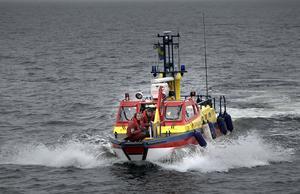 Ett drunkningslarm på Tjuvskär avblåstes efter att räddningstjänsten kom till platsen.  Arkivfoto.
