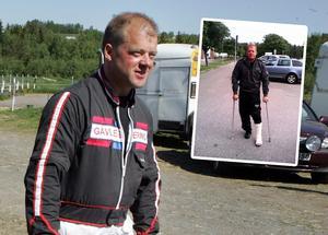 Mats Jonsson kommer tvingas bära gips kommande sex veckor.