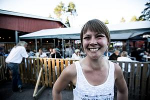 Malin Palmén från Jönköping på Dansbandsveckan i Malung 2016 är en av Tonys favoriter på danskursen.