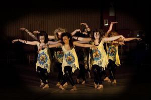 Hudikgympas lag Showbizz tog en storseger i Showdans contest i helgen.