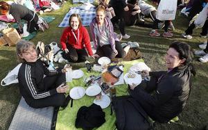 Uppvärmning med picknick 2012.