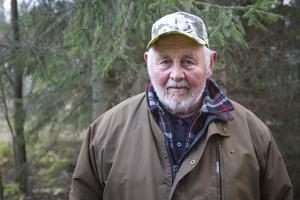 Bror Löjdström fällde i början av 1980-talet en älg som innebar europarekord i hornstorlek.