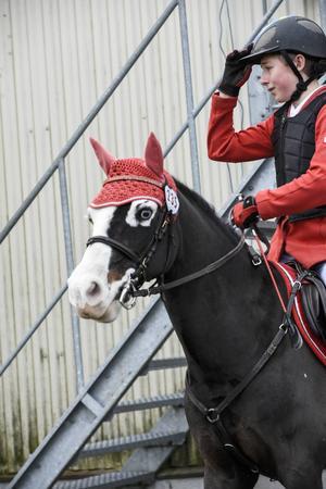 Philip Svitzer, Flyinge RF och ponnyn Oliver.