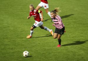 Matilda Johansson blev Frösöns enda målskytt för kvällen.