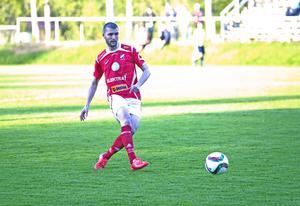 Aimen Sewed gjorde elva mål för Edsbyn den gångna säsongen