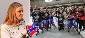 Camilla Johansson var med och tog SM-guld i våras – Karebys fjärde. Men än är man inte mätta på framgång. Foto Martin Löf Nyqvist/Sören Andersson TT