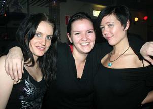 Blue Moon Bar. Sussie, Jeanette och Marie