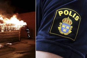 En rad bränder som anlagts i Ljusdal under sommaren har gäckat polisen.