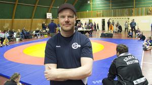 Jimmy Johansson, Norbergs Brottarklubb kommer själv att tävla. Fotograf: Björn Westin