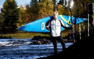 Hemmapaddlaren Isak Öhrström dominerade helgens SM-tävlingar i Falun. Foto: Johan Solum/DT