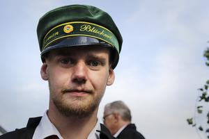 Herman Blückert var en av de glada studenterna på Höghammargymnasiet